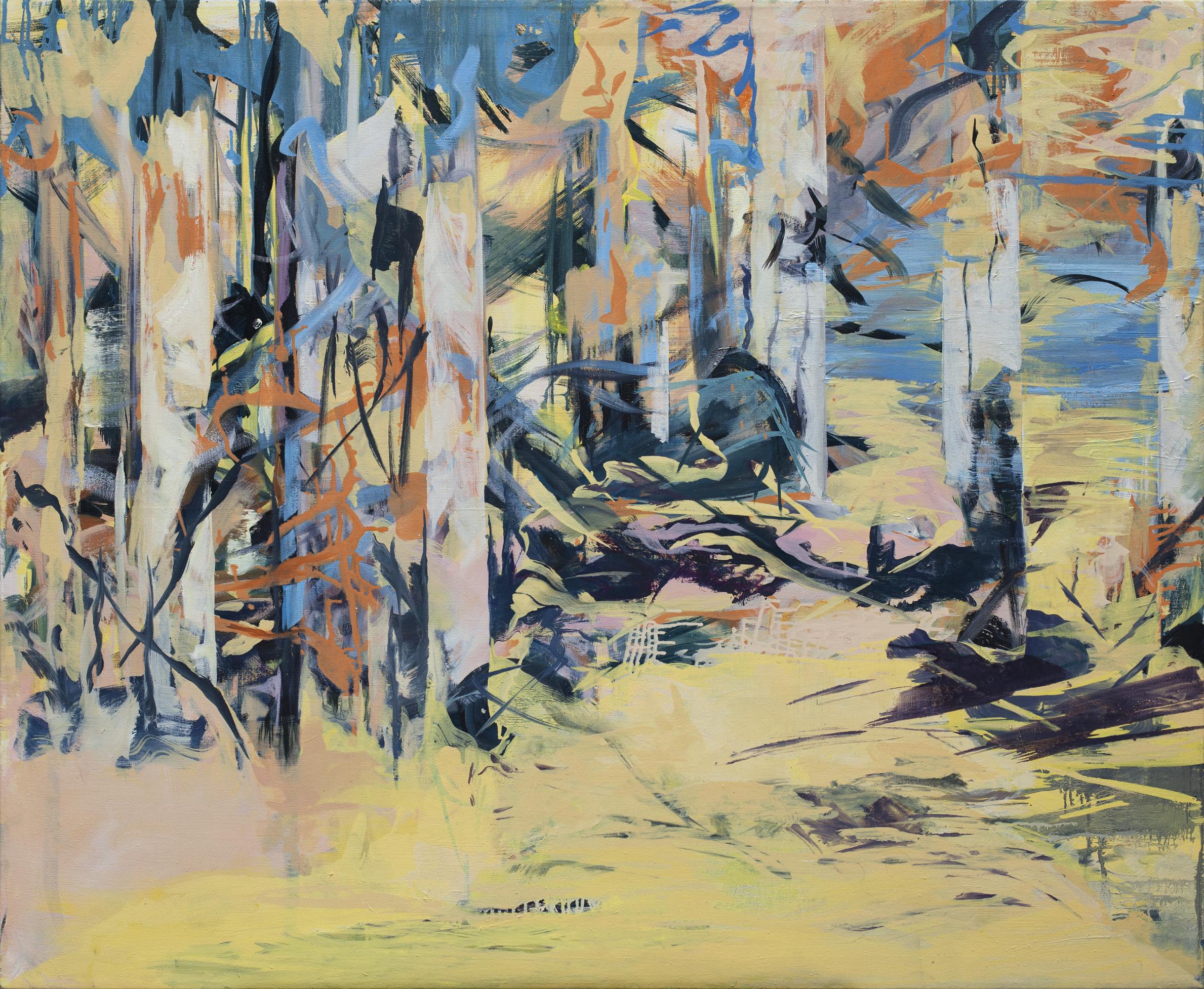 Verborgen ii, oil on canvas, 110 x 140 cm