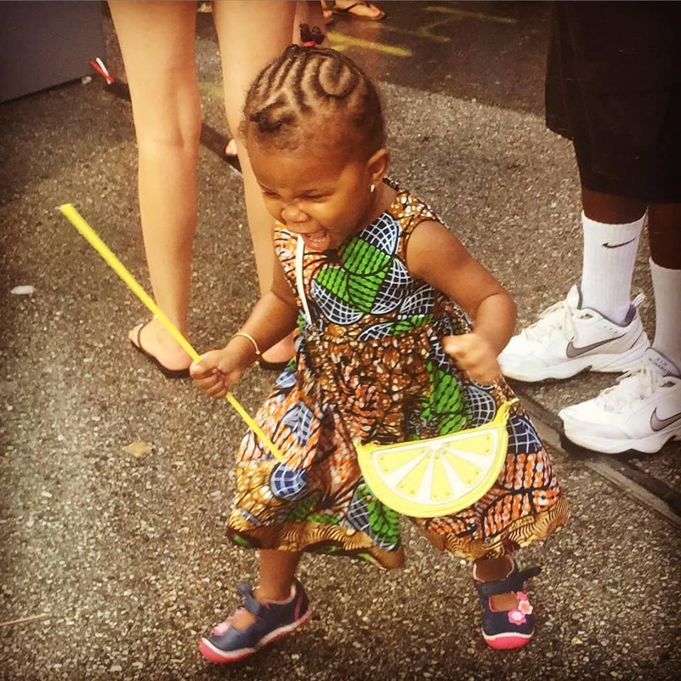 Warrior Princess at AfrAm Festival