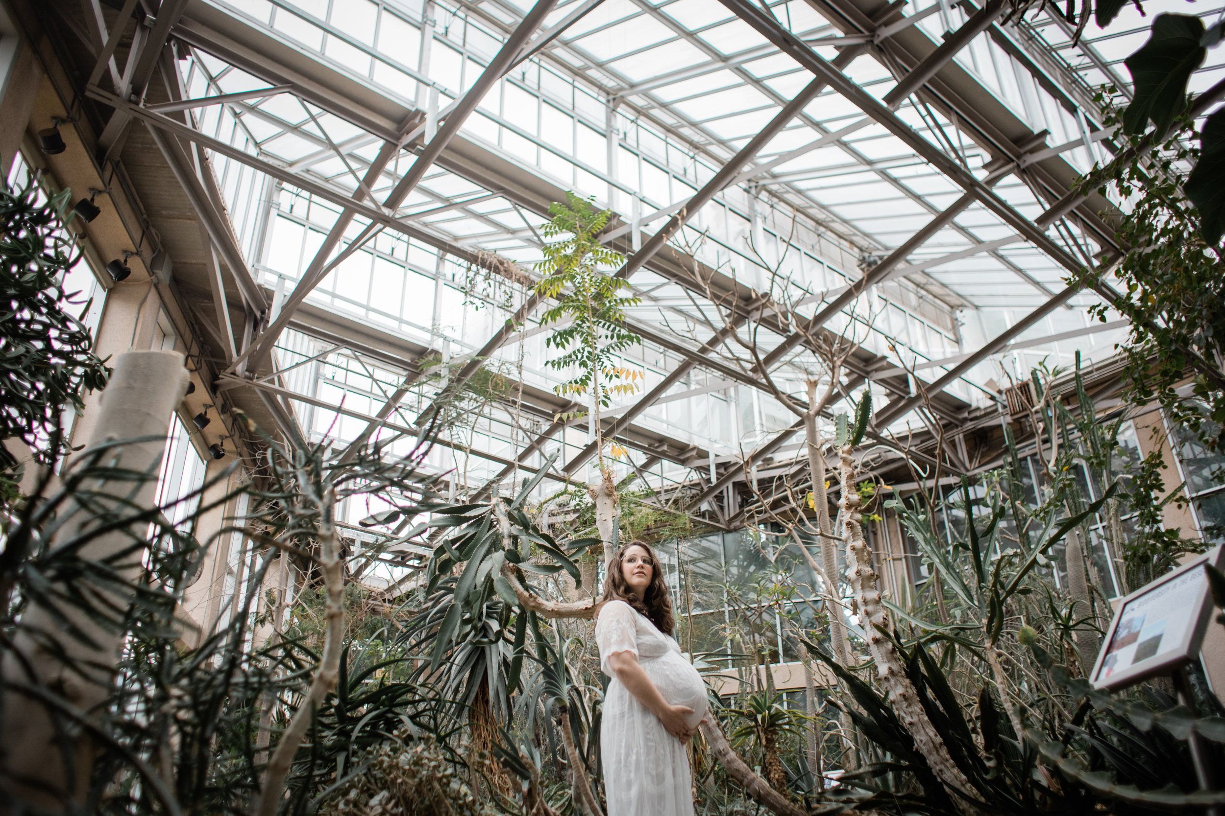 atlanta botanical gardens maternity photography