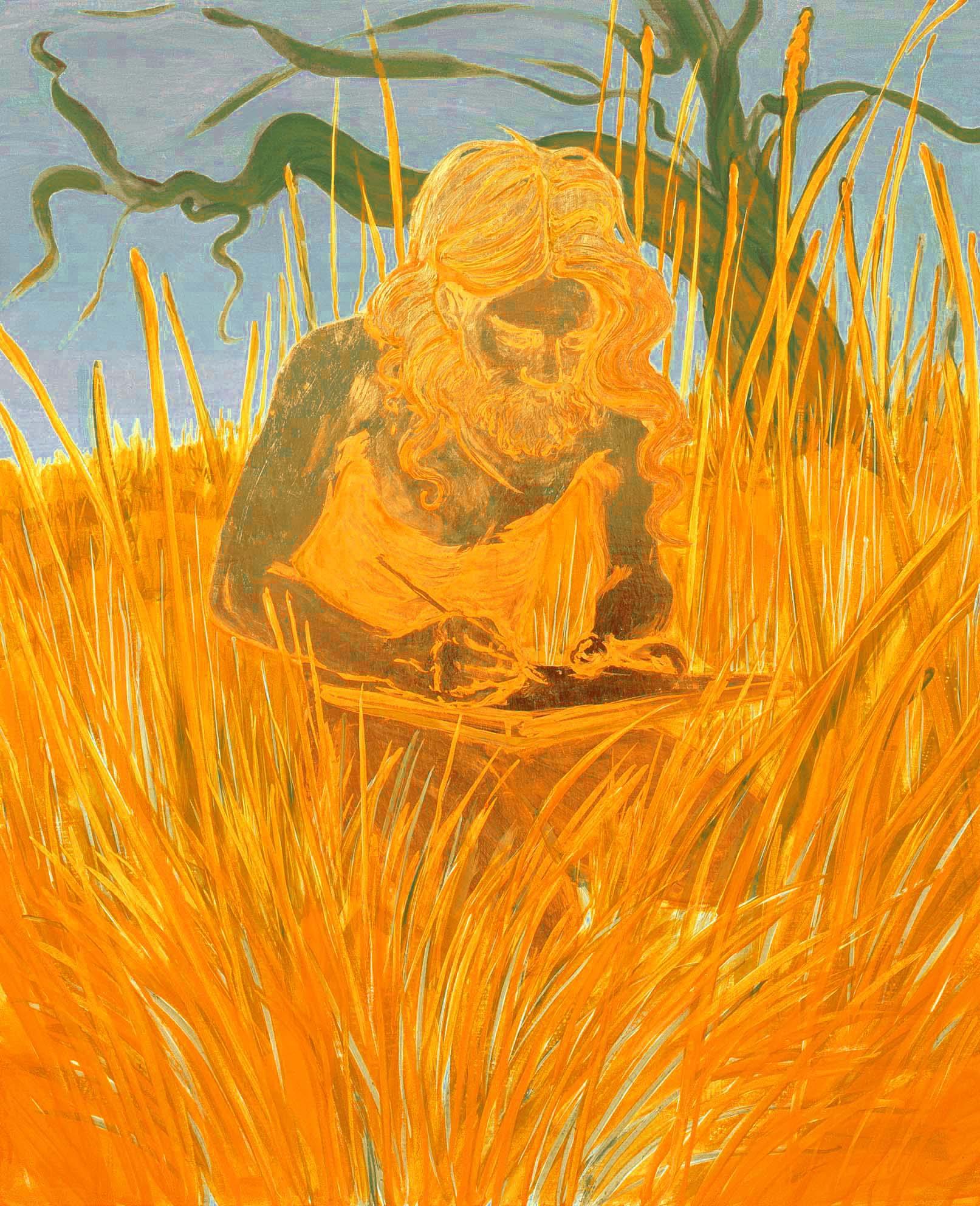Hippie artist, 2008