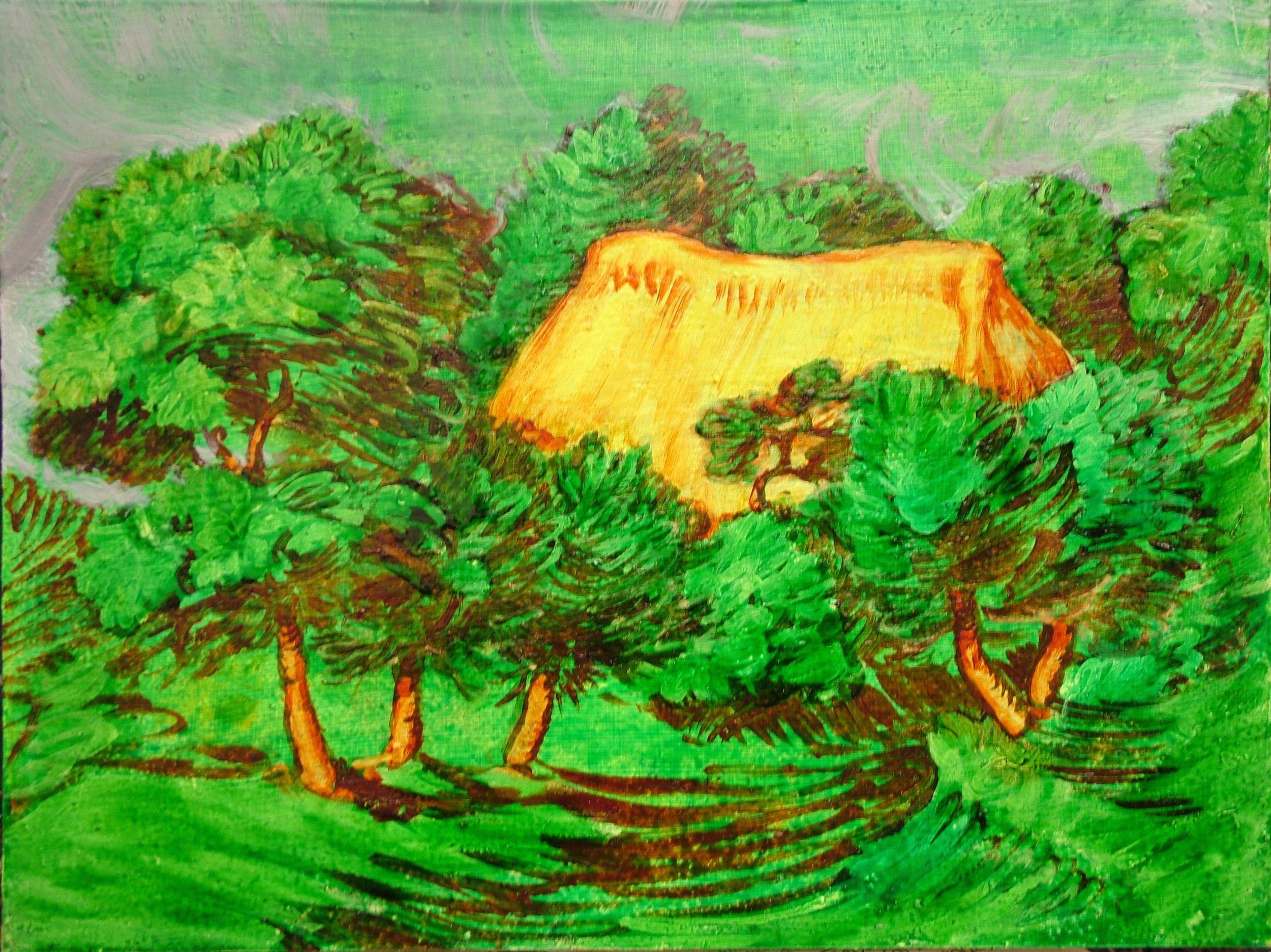A Cottage in a Copse, 2006
