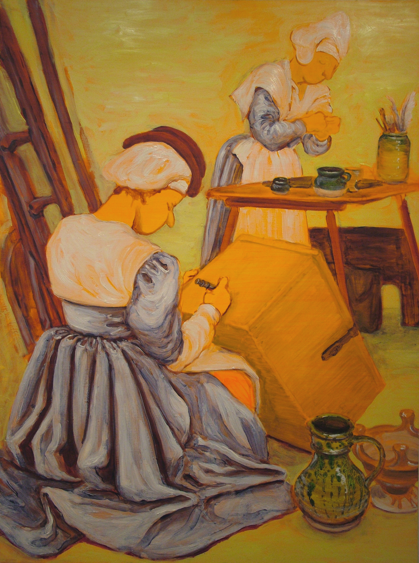 The Peasant-Painter's Studio, 2007,