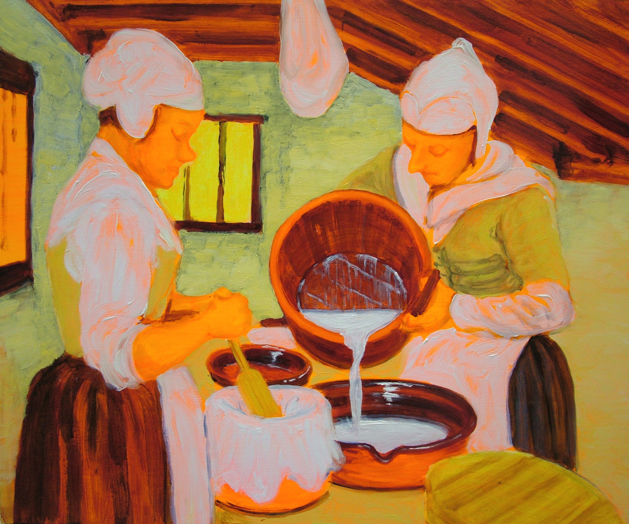 Two Dairy Maids, 2006