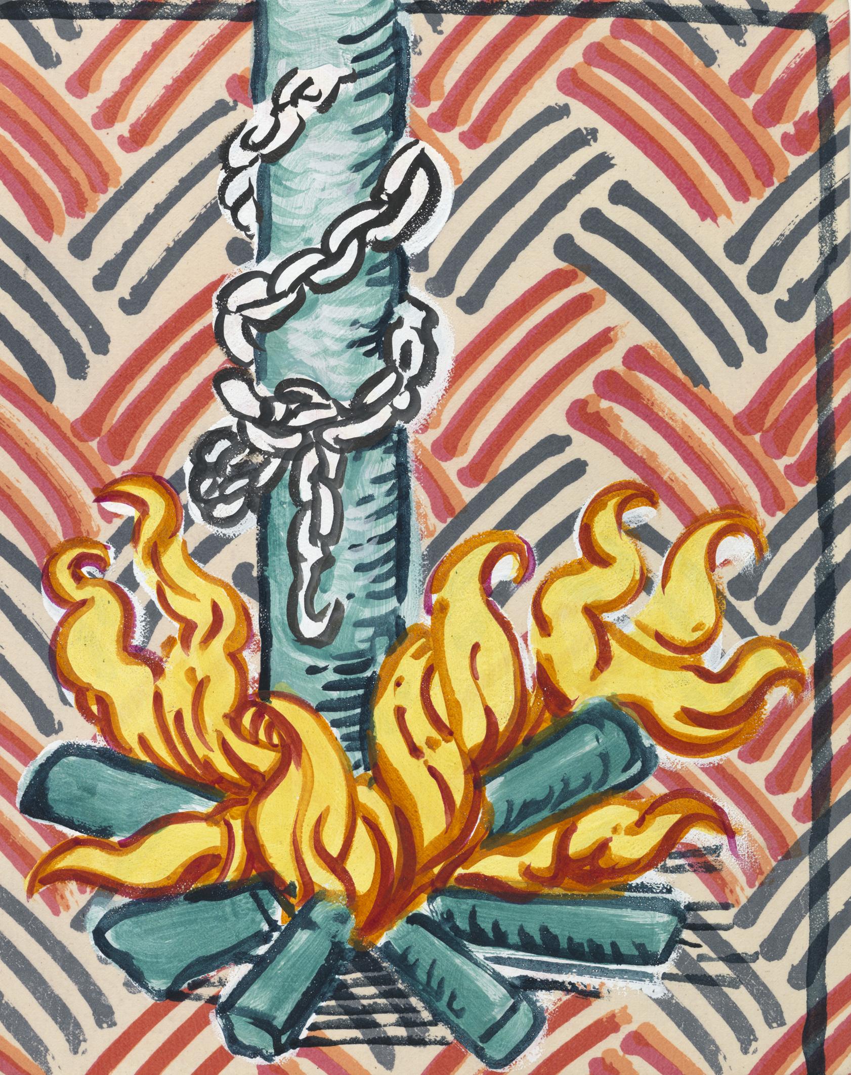Instrument of torture: Fire, 2017