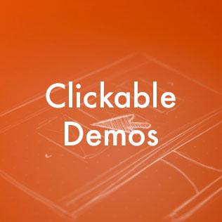 Clickable Demos