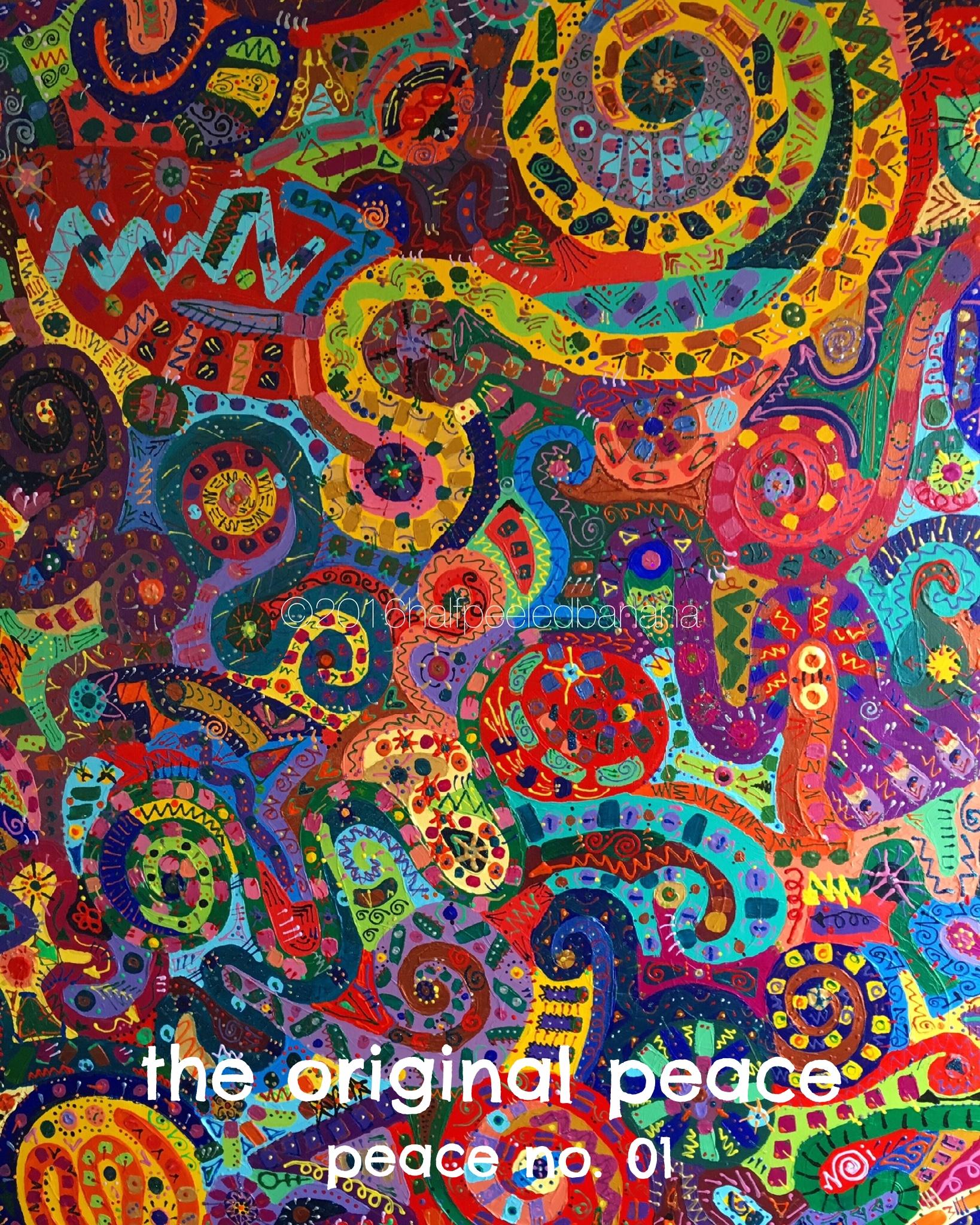 the original peace - peace print no. 01