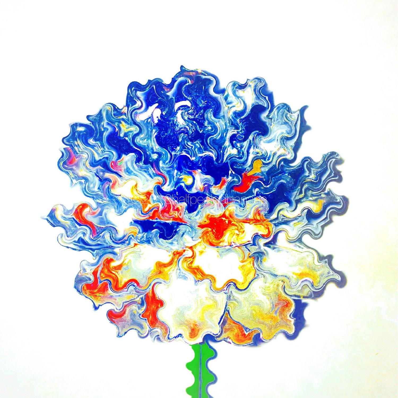 """bronco wiggles"" fine art print spoons no. 05 by ann vanatta gutierrez"