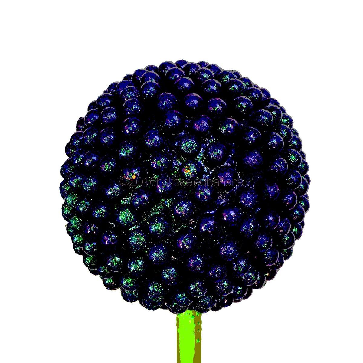 hot purple nubs - halfpeeledbanana.com