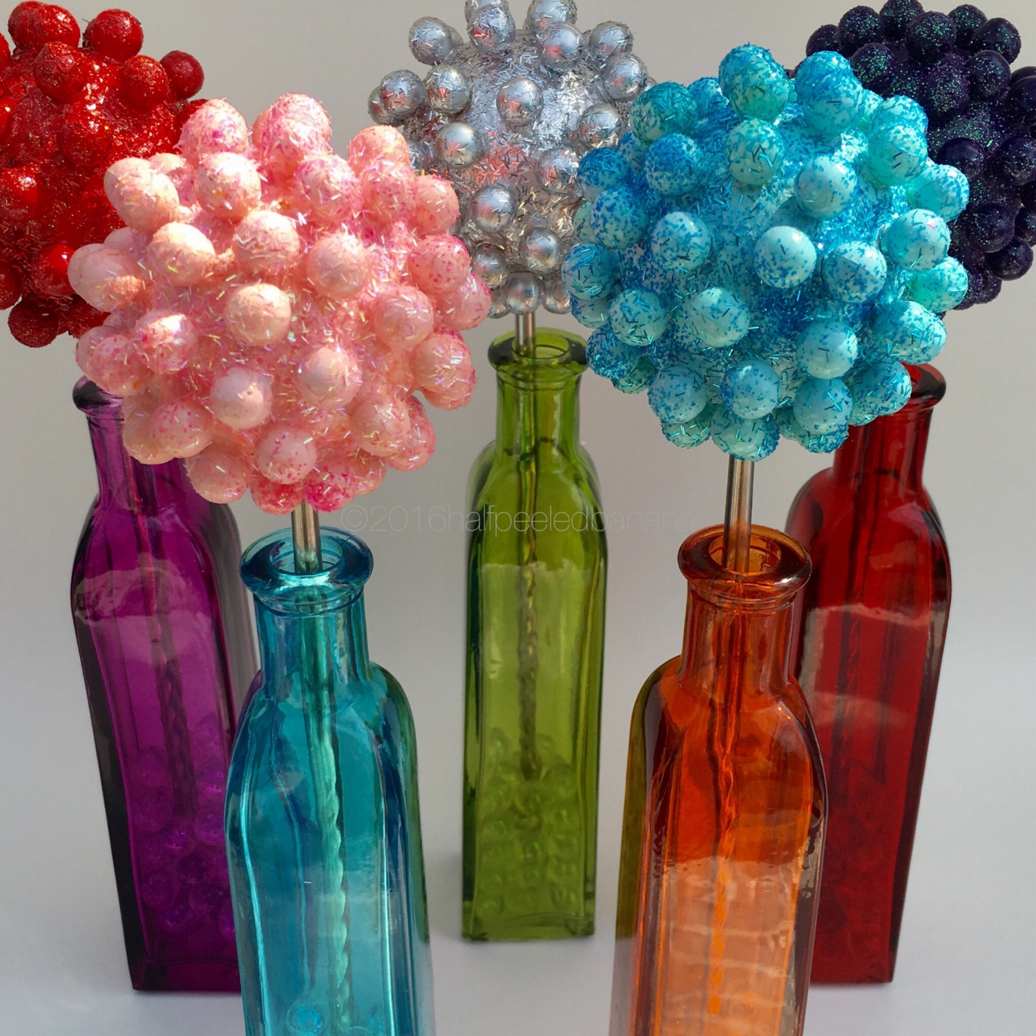 """perfectly bright tabletop flowers nubs style 3"""""""