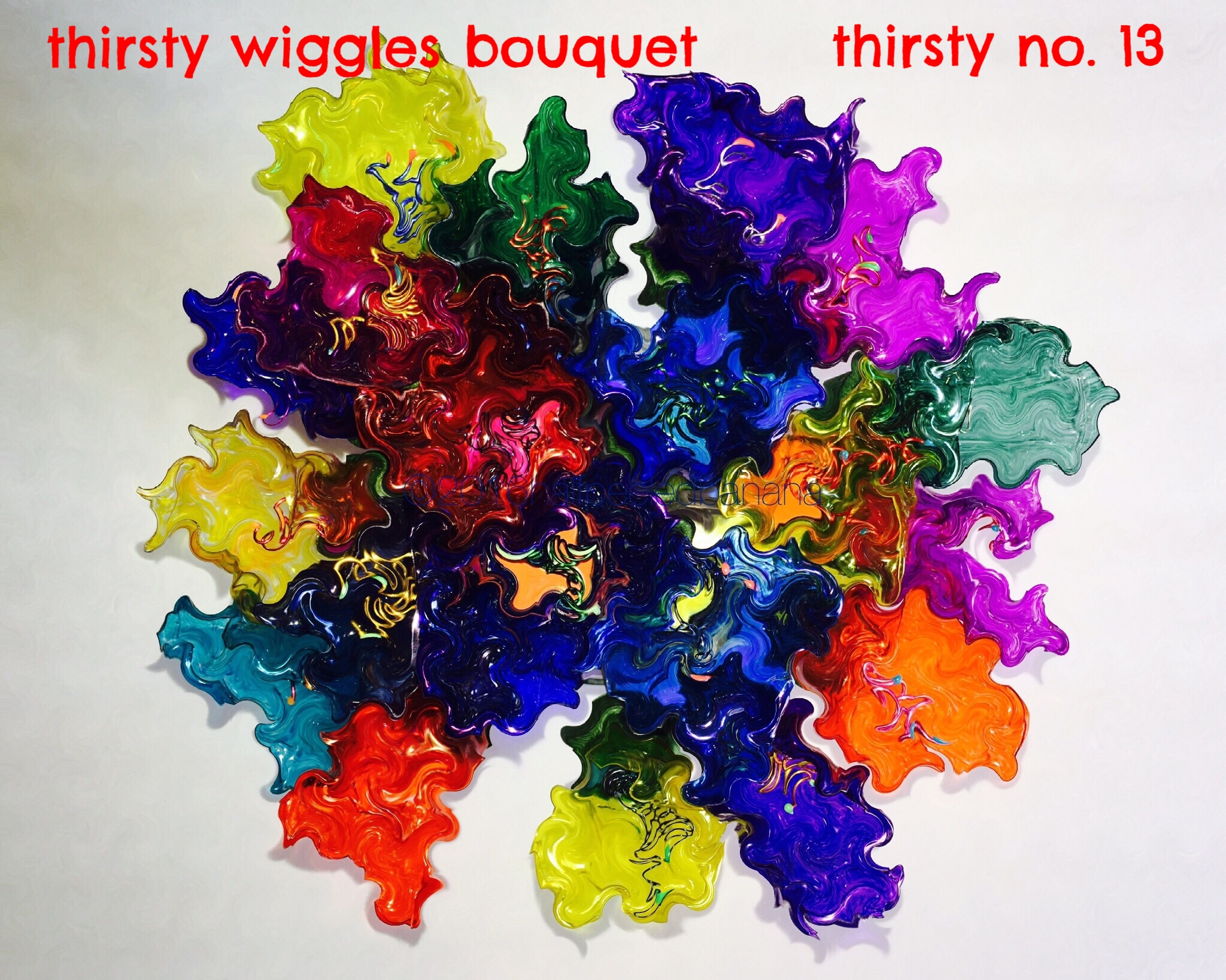 thirsty wiggles print - thirsty no. 13