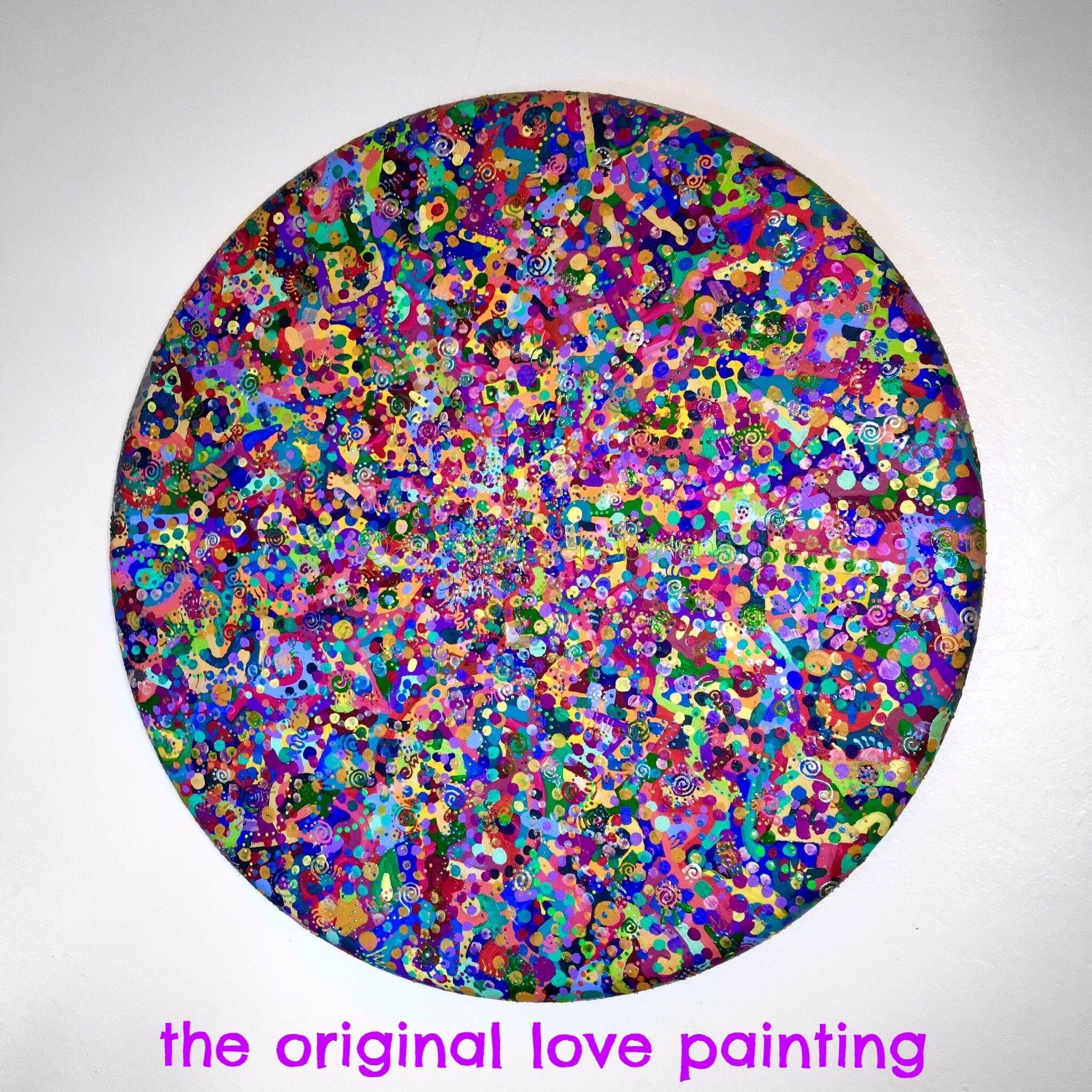 the original love painting - love no. 01