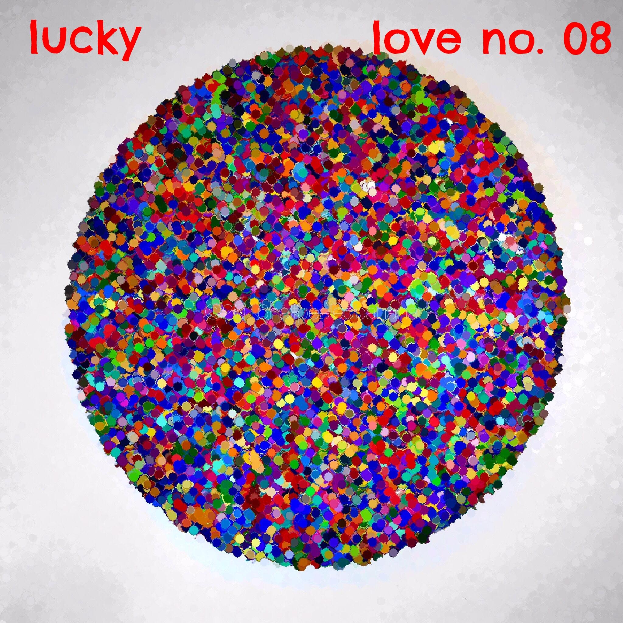 lucky - love print no. 08