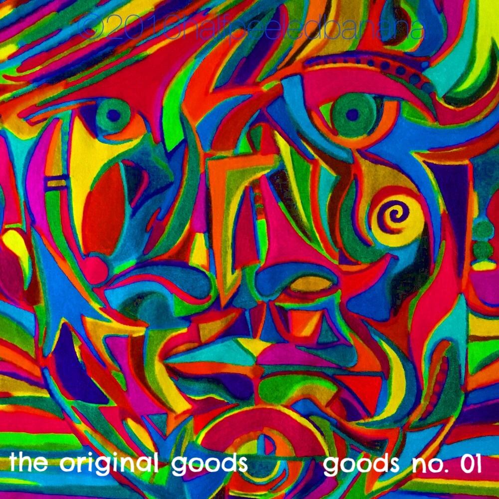 the original goods - goods no. 01 square - art print - halfpeeledbanana.com