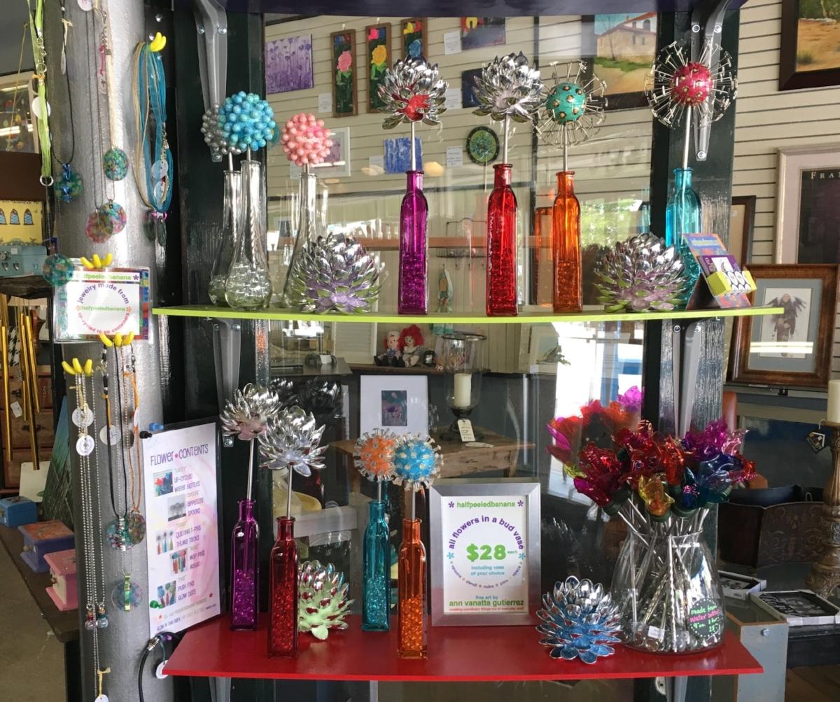 flowers including vase = $28