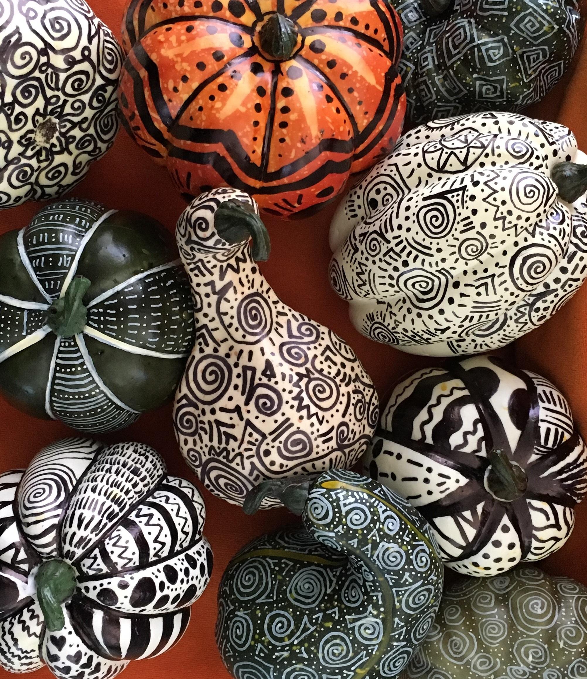 halfpeeledbanana-hand-painted-pumpkins.jpg