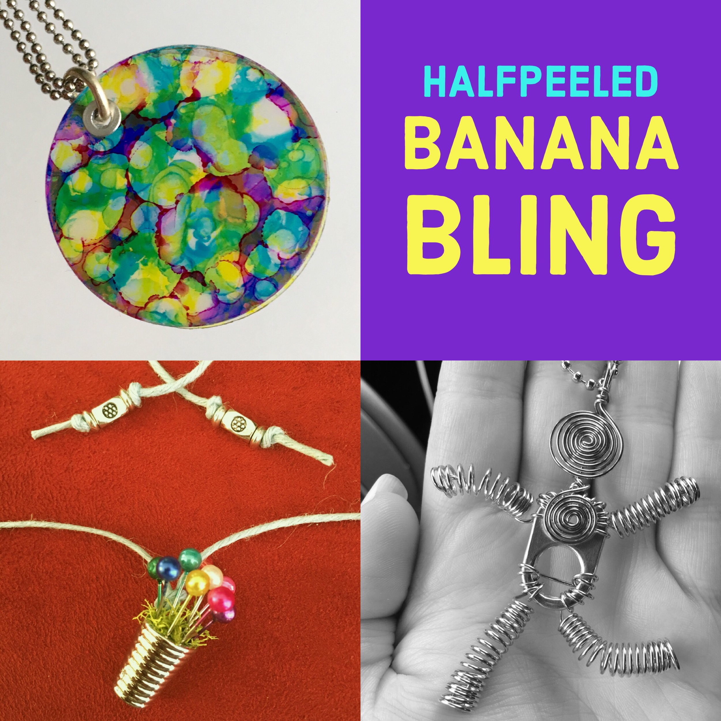 BLING! Upcycled & Repurposed Jewelry