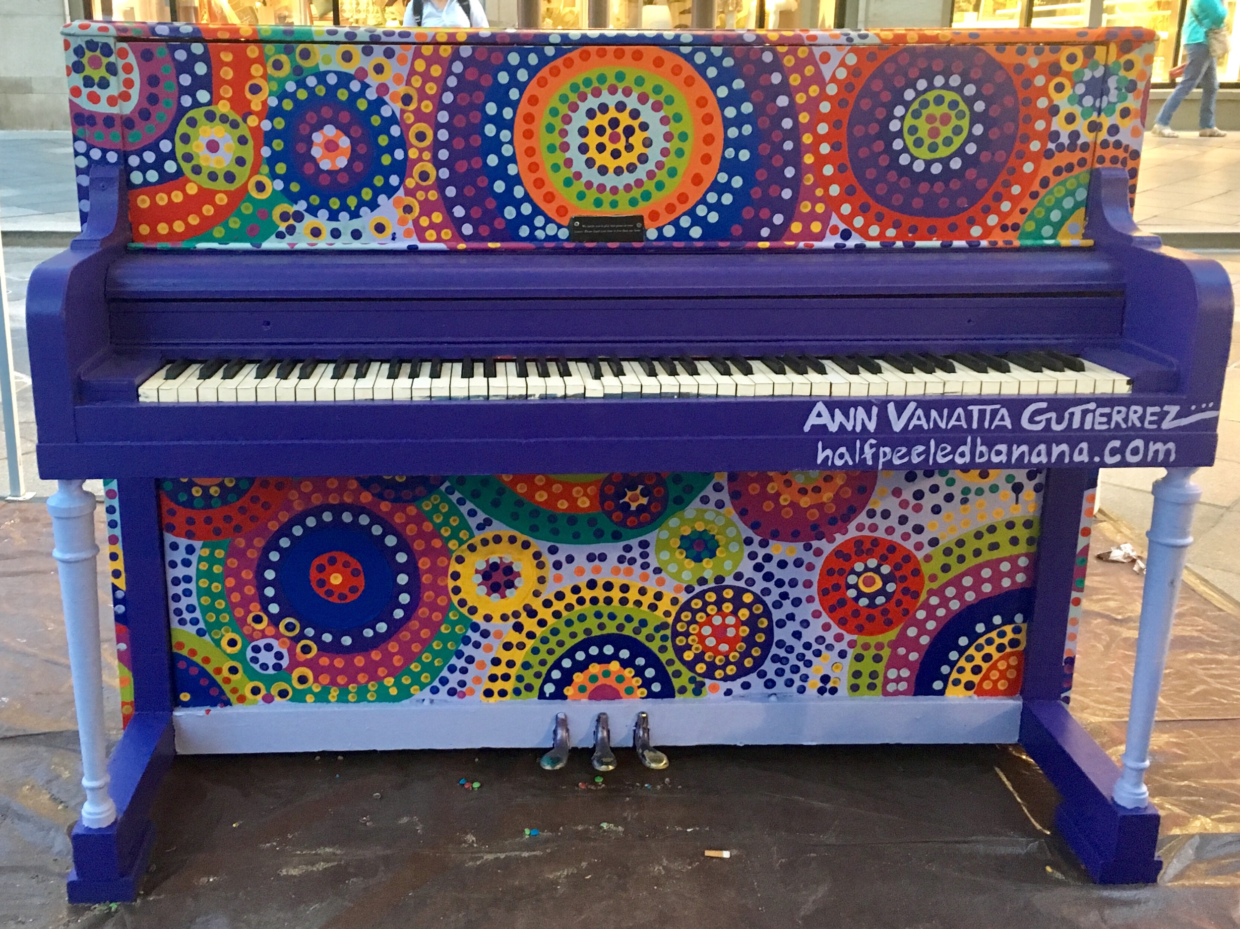Piano on the 16th Street Mall 2019