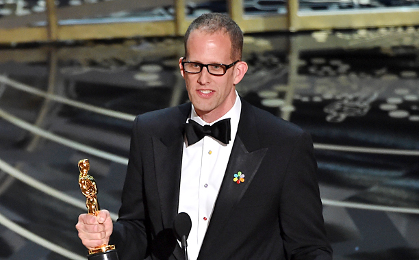 Pete Docter at the 2016 Academy Awards
