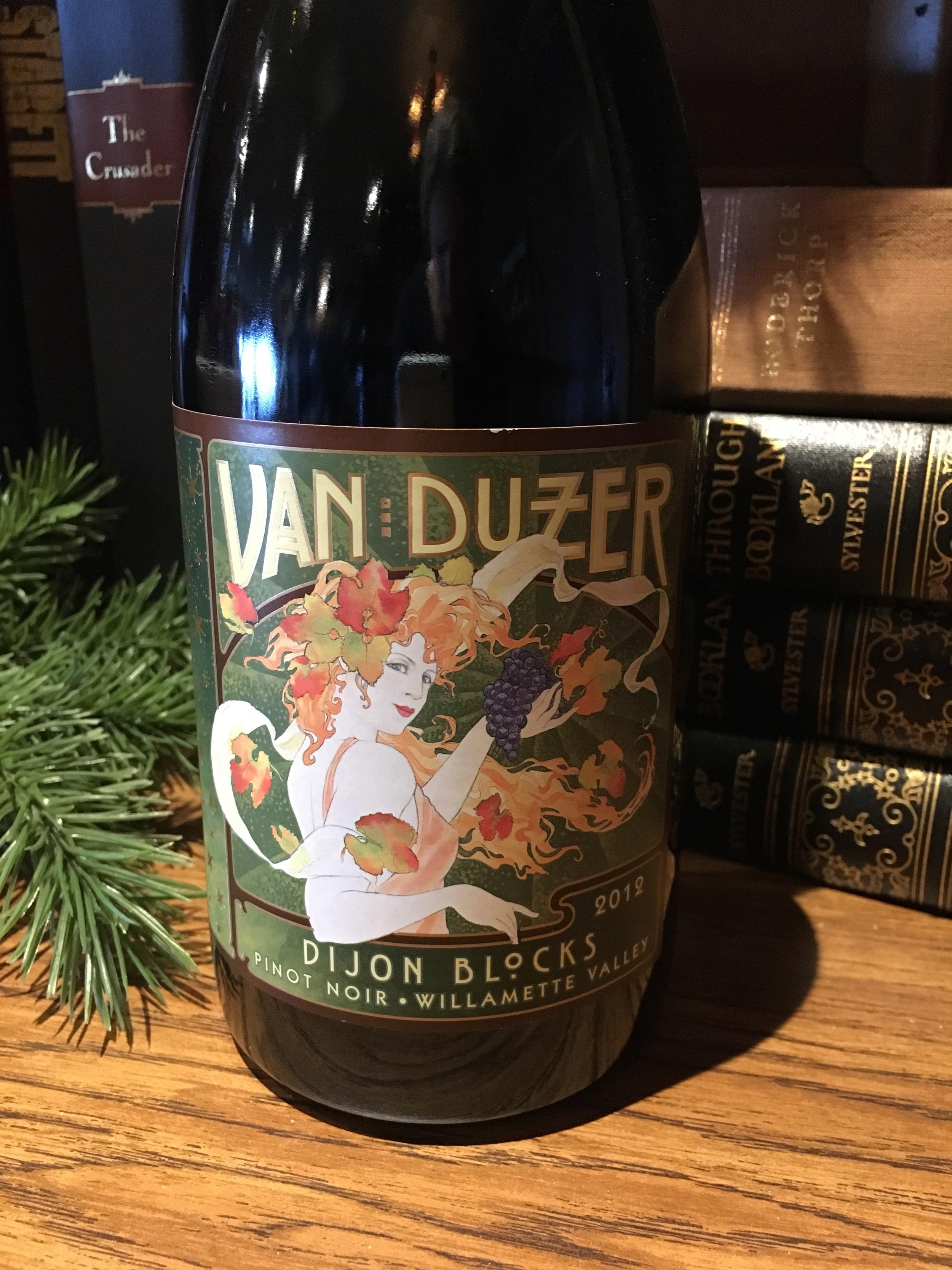 Van Duzer - 2012 Dijon Blocks Pinot Noir