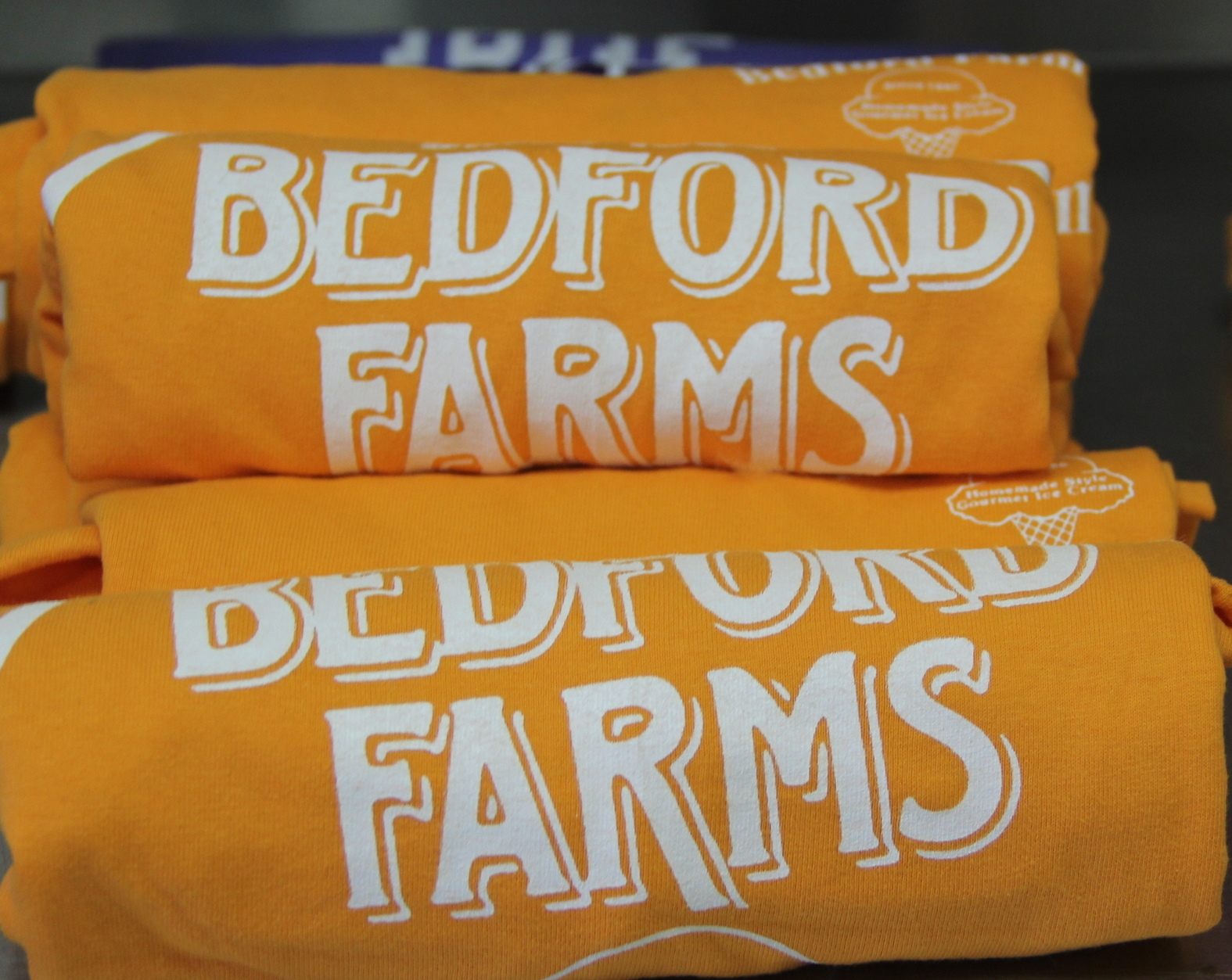 close up of orange BF shirts.JPG