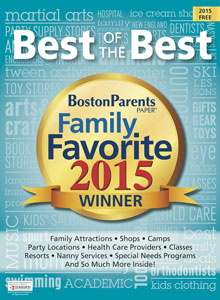 "BOSTON PARENTS PAPER, 2015    ""Top 10 Ice Cream Places in Massachusetts in 2015"""