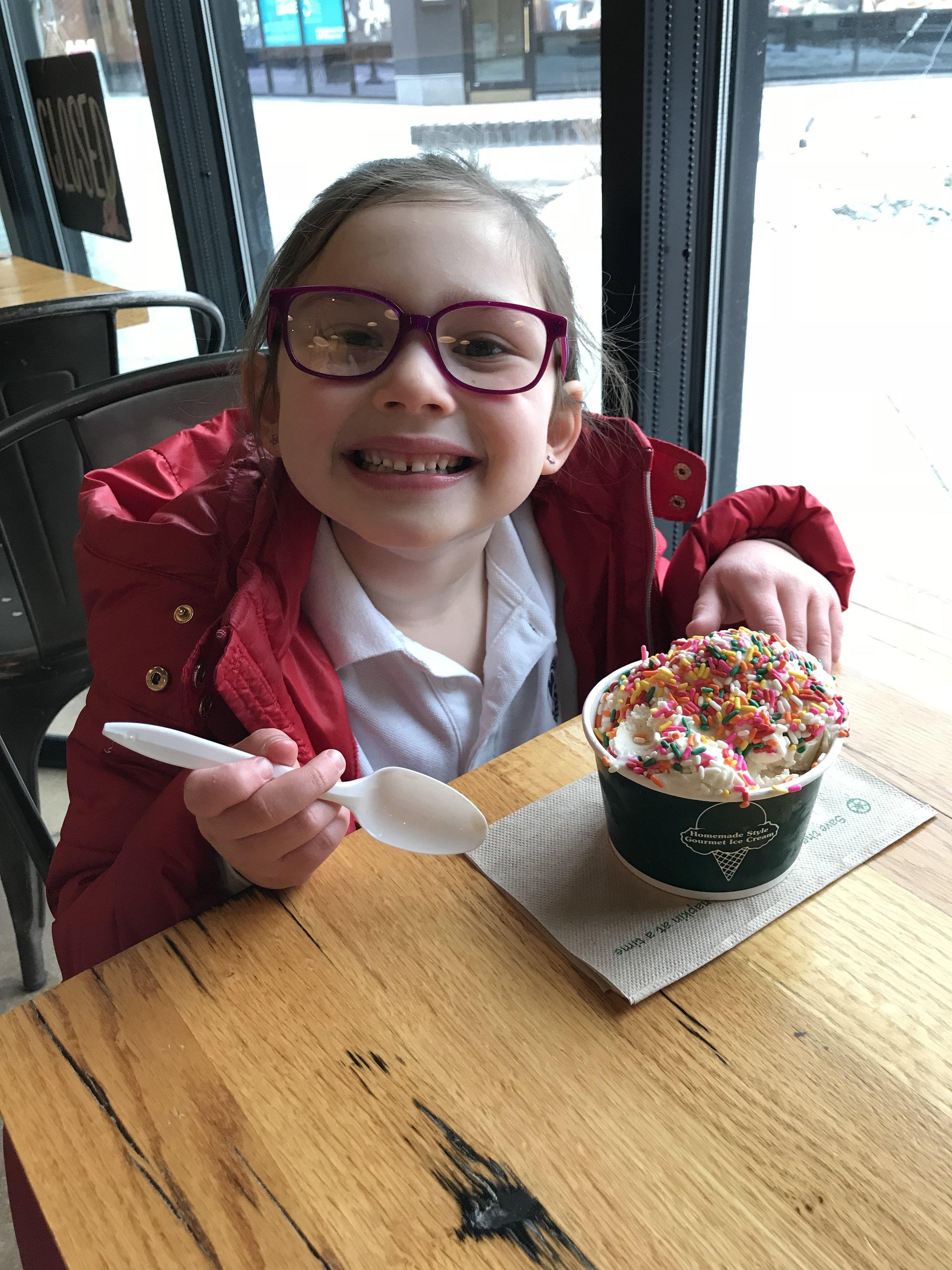 Bedford Farms Ice Cream Happy Customer.JPG
