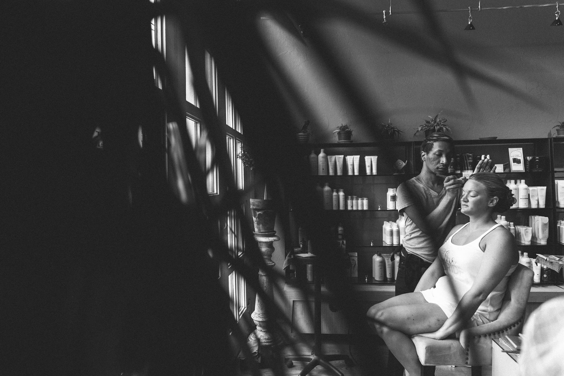 Dayton Wedding Photographer - Black and white
