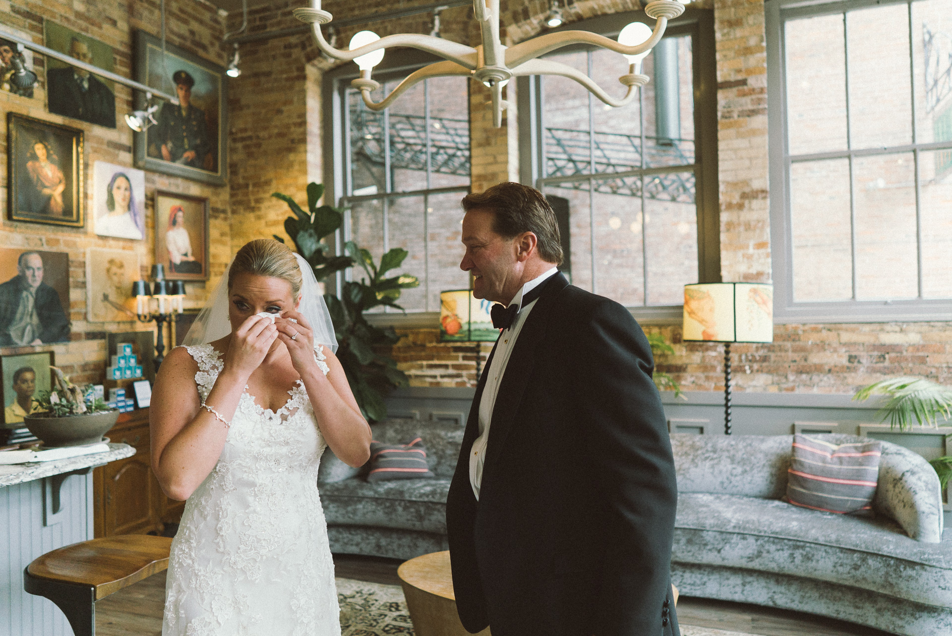 Dayton Wedding Photographer - Father and Daughter