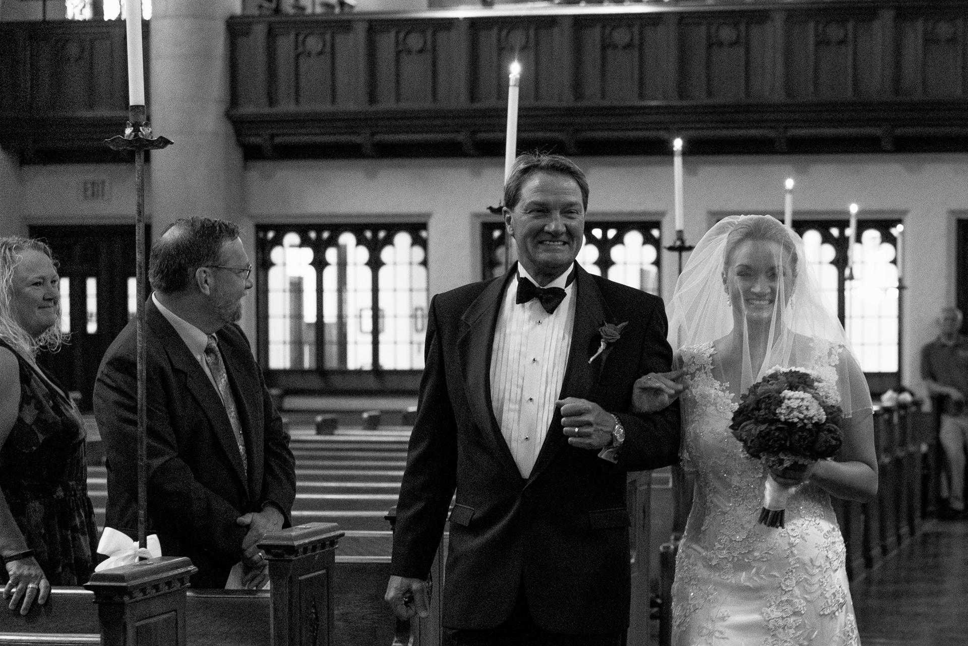 Dayton Wedding Photographer - Dad and Daughter