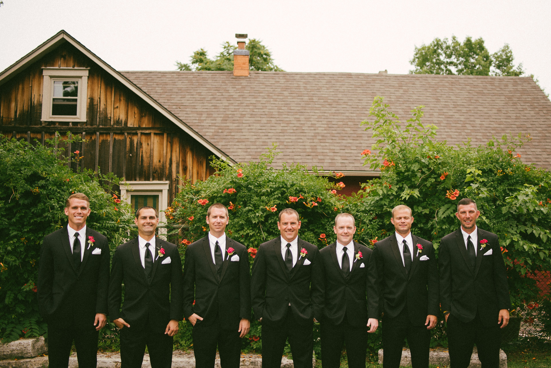 Dayton Wedding Photographer - Groomsmen