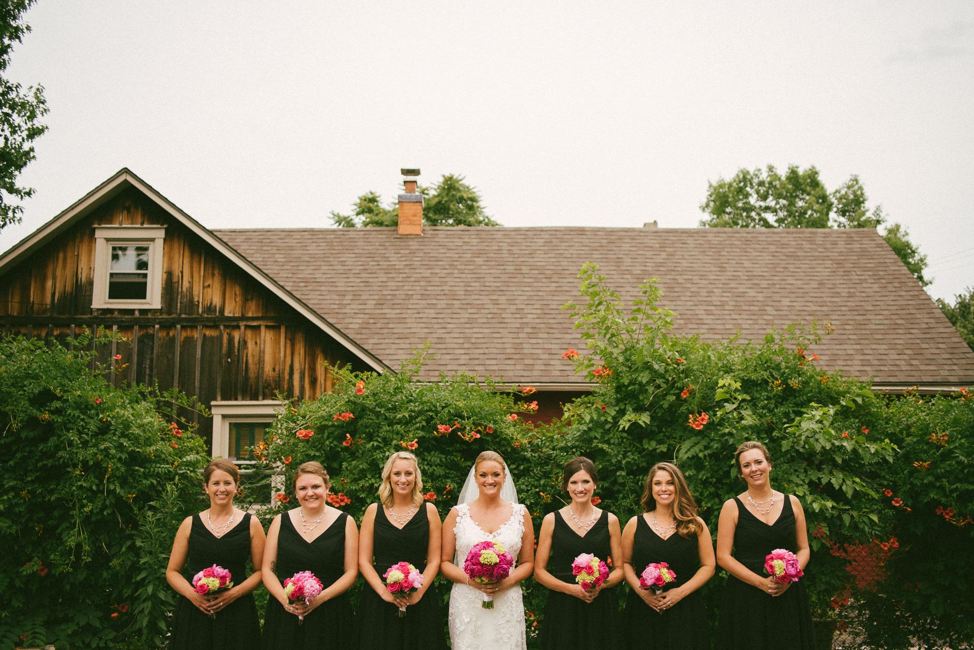 Dayton Wedding Photographer - Bridesmaides