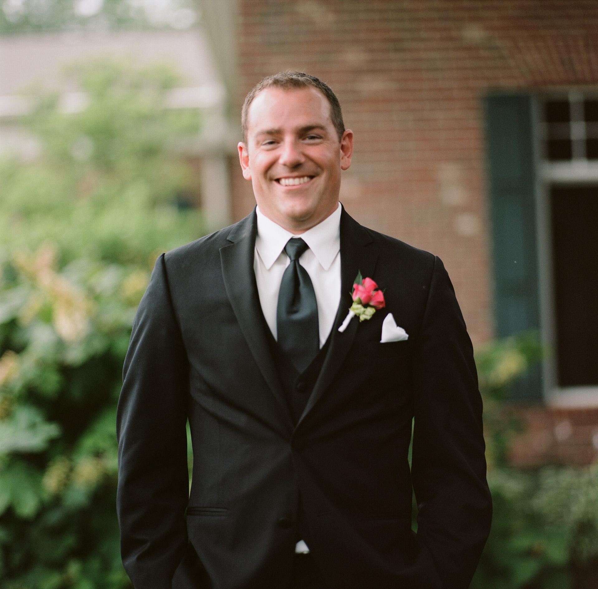Dayton Wedding Photographer - Groom Portrait