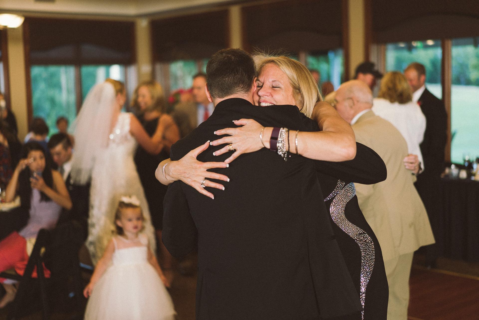 Dayton Wedding Photographer - Groom and mother