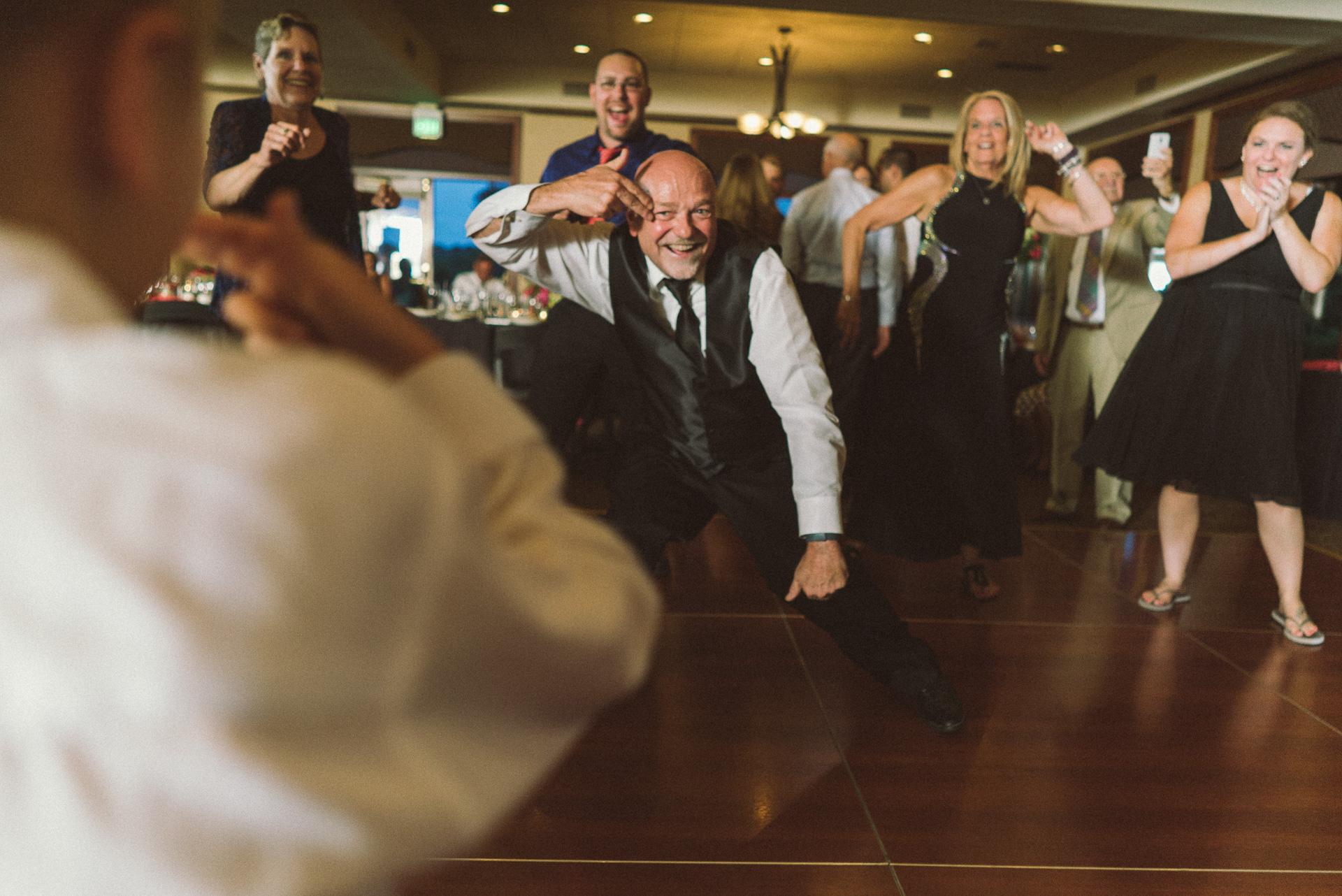 Dayton Wedding Photographer - Father of Groom