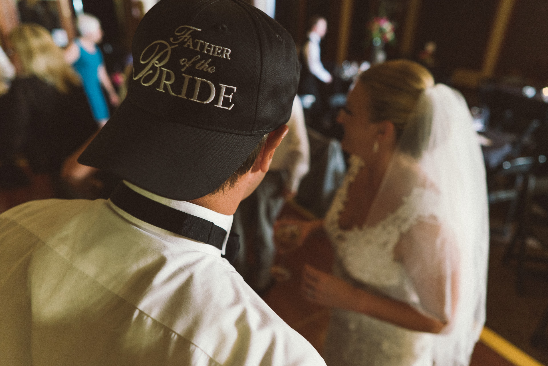 Dayton Wedding Photographer - Dad and Bride Dancing