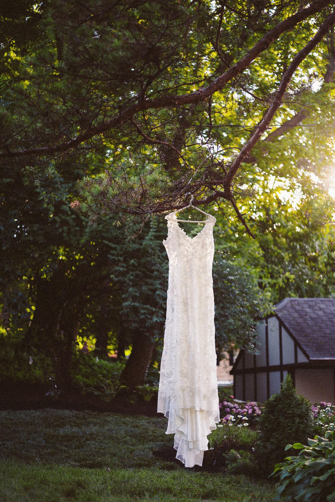 Dayton Wedding Photographer - Wedding Dress