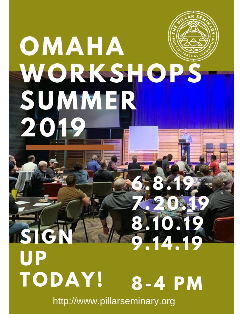 Omaha Workshops Summer 2019
