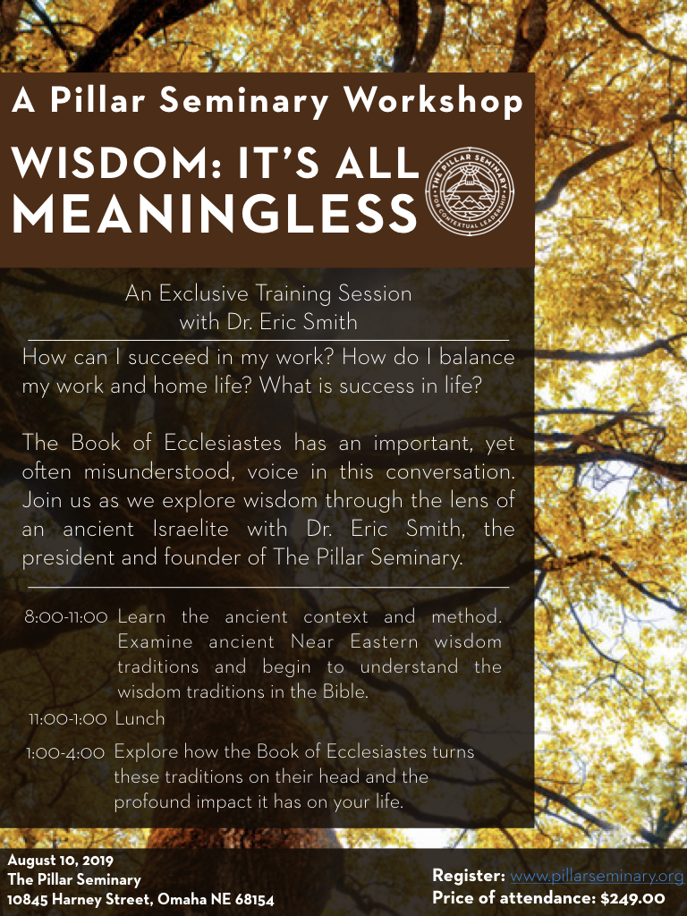 wisdom its all meaningless flyer.png