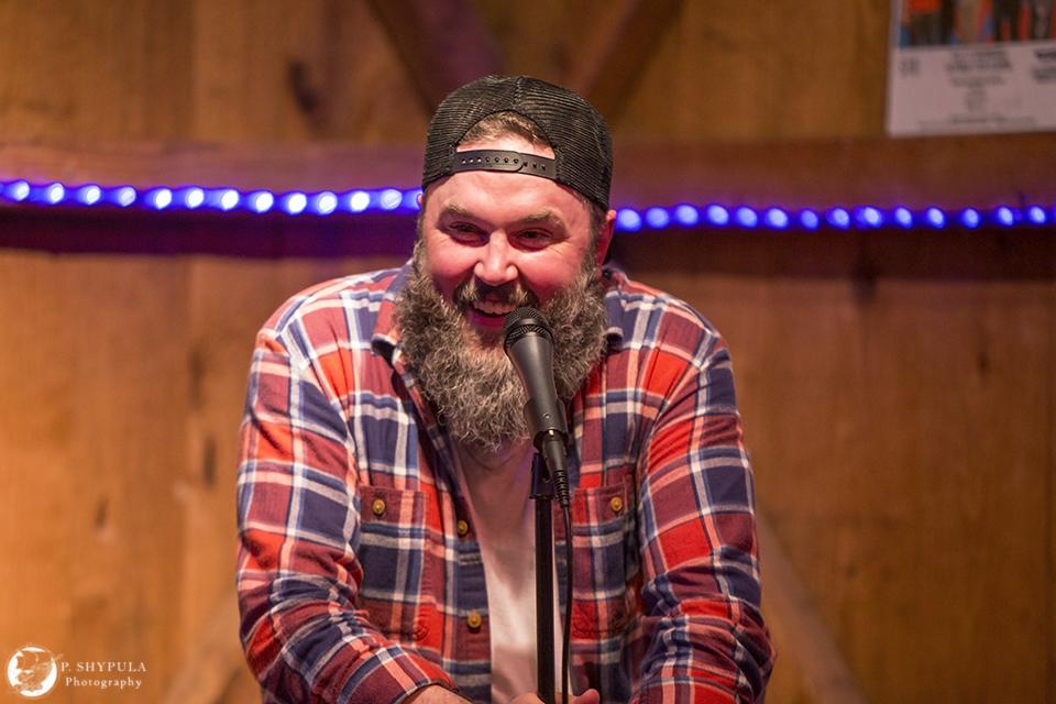 Geoff Tate in April 2015 at Flat 12 Bierwerks Indianapolis