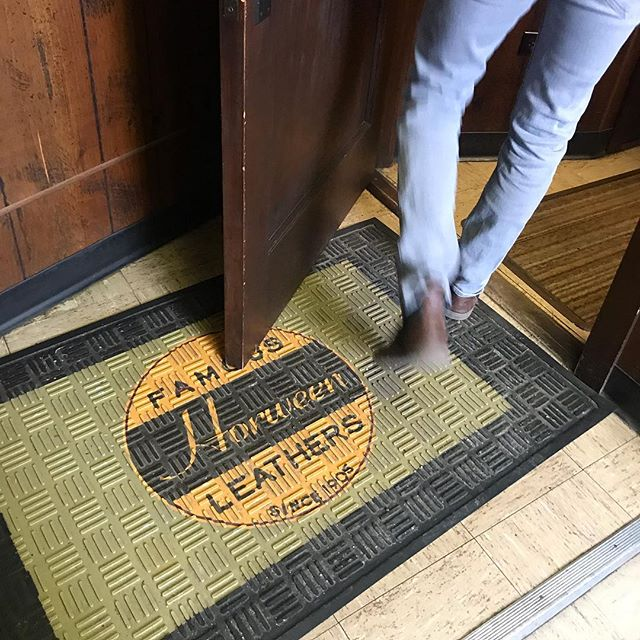 Horween Tannery   Disneyland any day. We flew out to Chicago a couple of weeks ago to visit @horweenleather and hand select the leather for our harnesses. Shout out to Skip and Nick Horween and Shelley for showing us around the tannery! #thehappiestplaceonearth