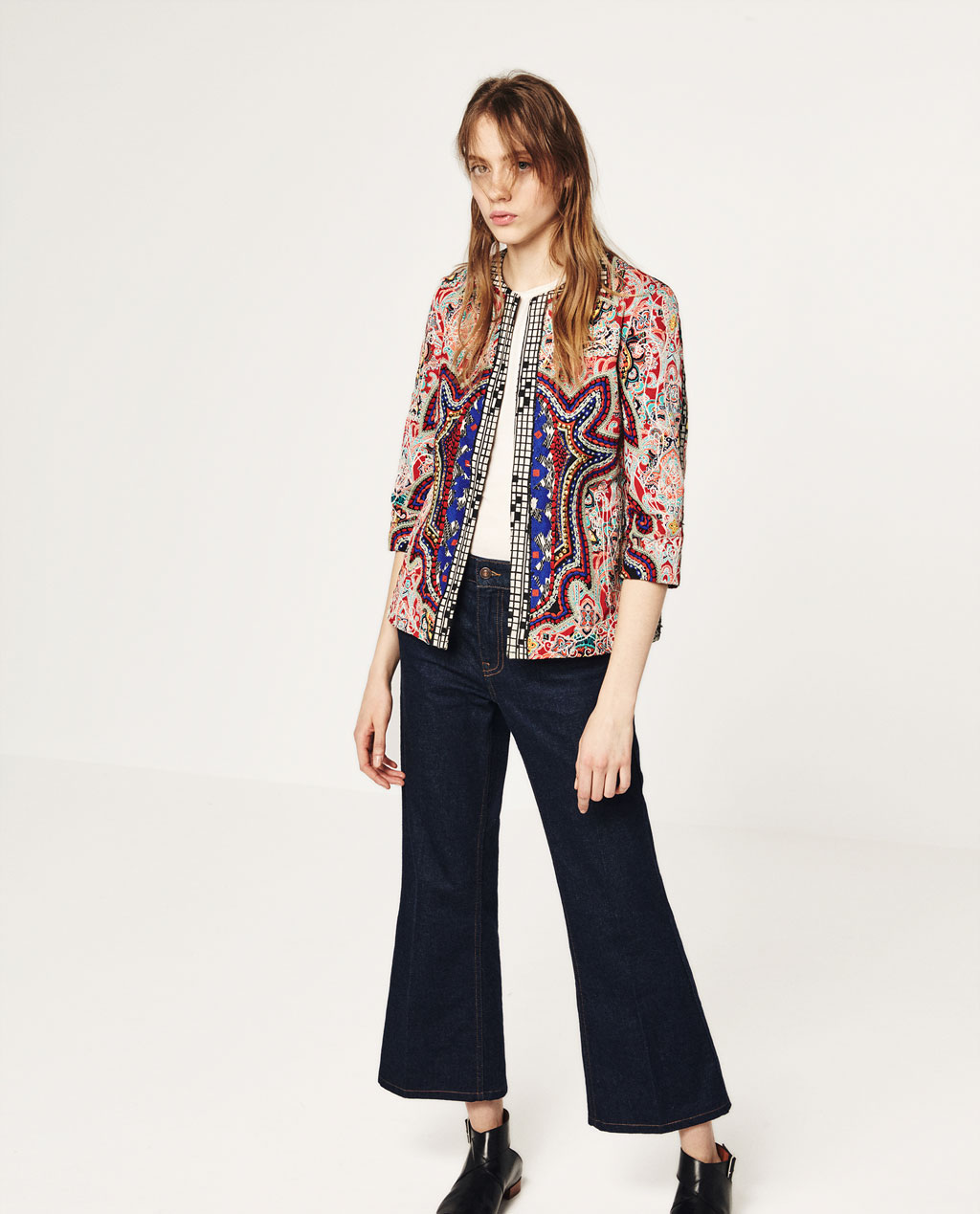 EMBROIDERED JACKET ZARA $149.00