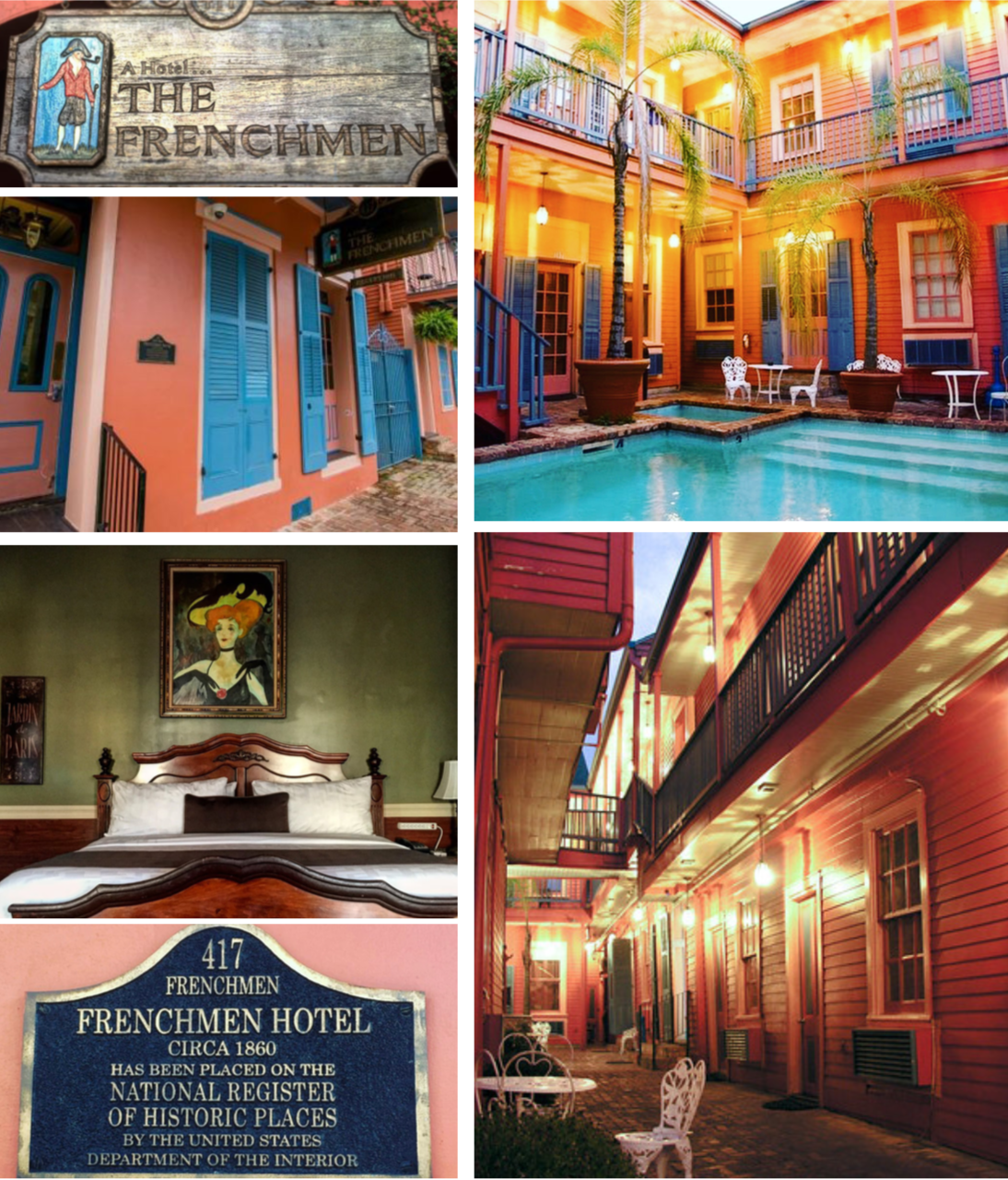 The Frenchman is a continuation of the Drifter Hotels story focused on preserving the past while anticipating the future of hospitality and the importance of guest experience. -