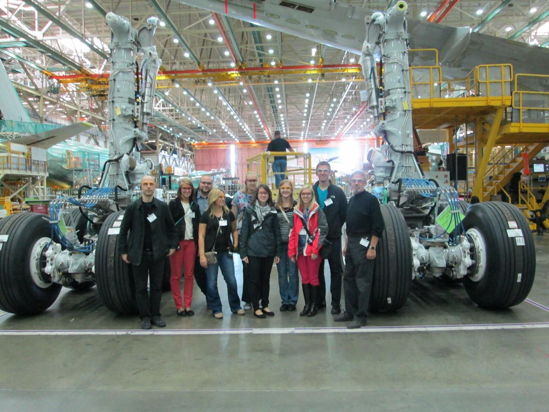 Boeing Site Visit
