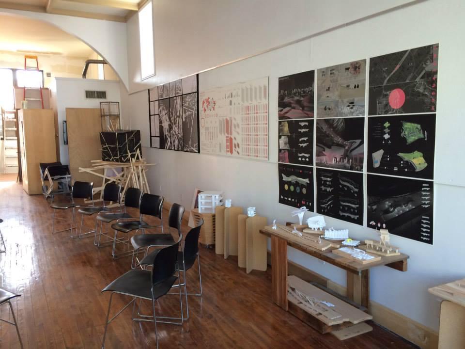 Arch 602 final presentations at Muncie Makes Lab