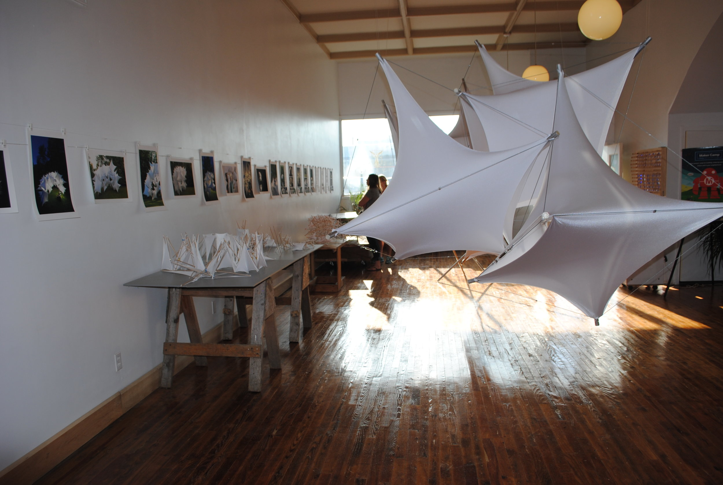 Exhibition at Muncie Makes Lab Sept 2014