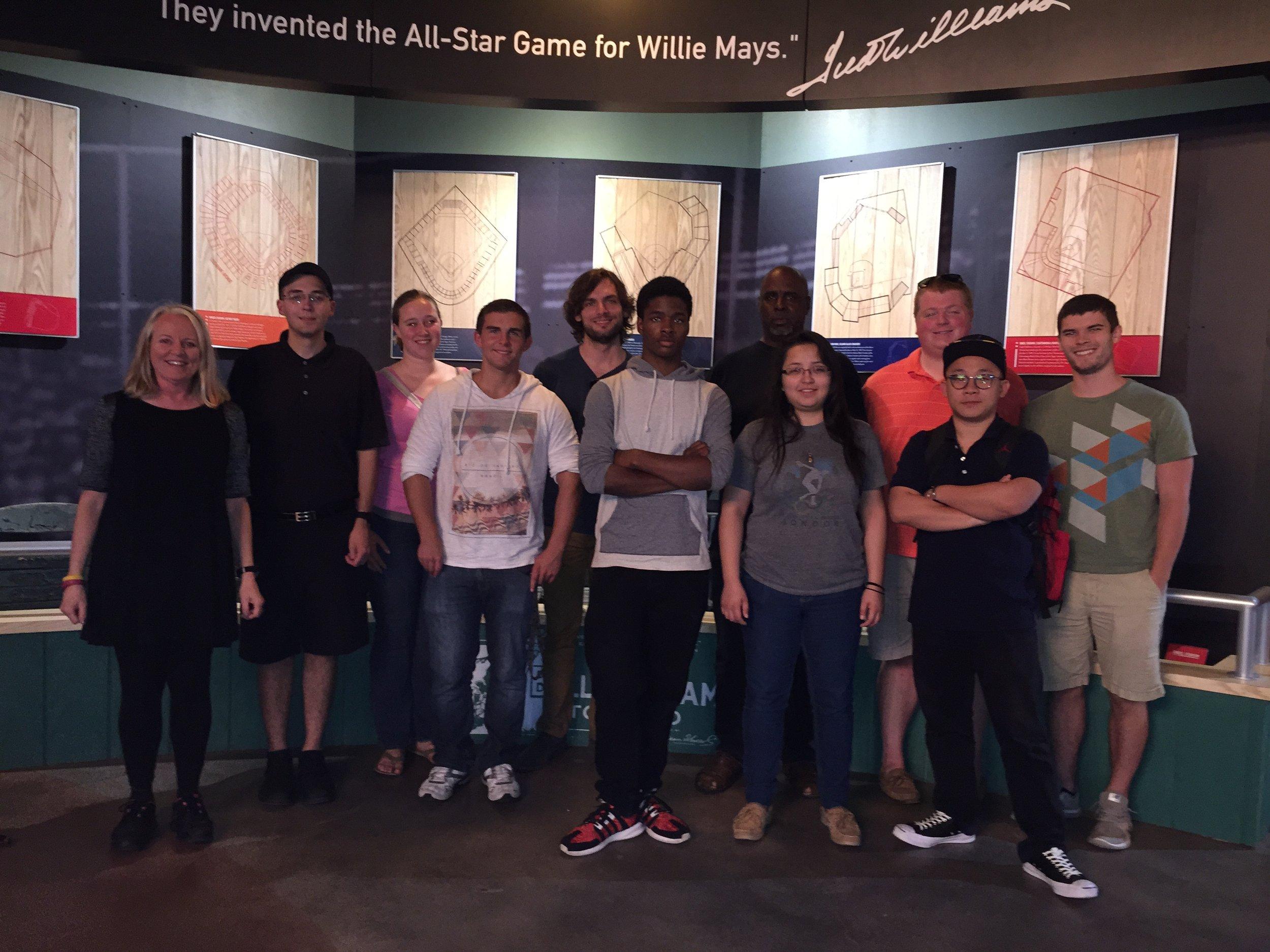 ARCH594-2015-Keddy-Group Photo_Negro Baseball Museuam.JPG