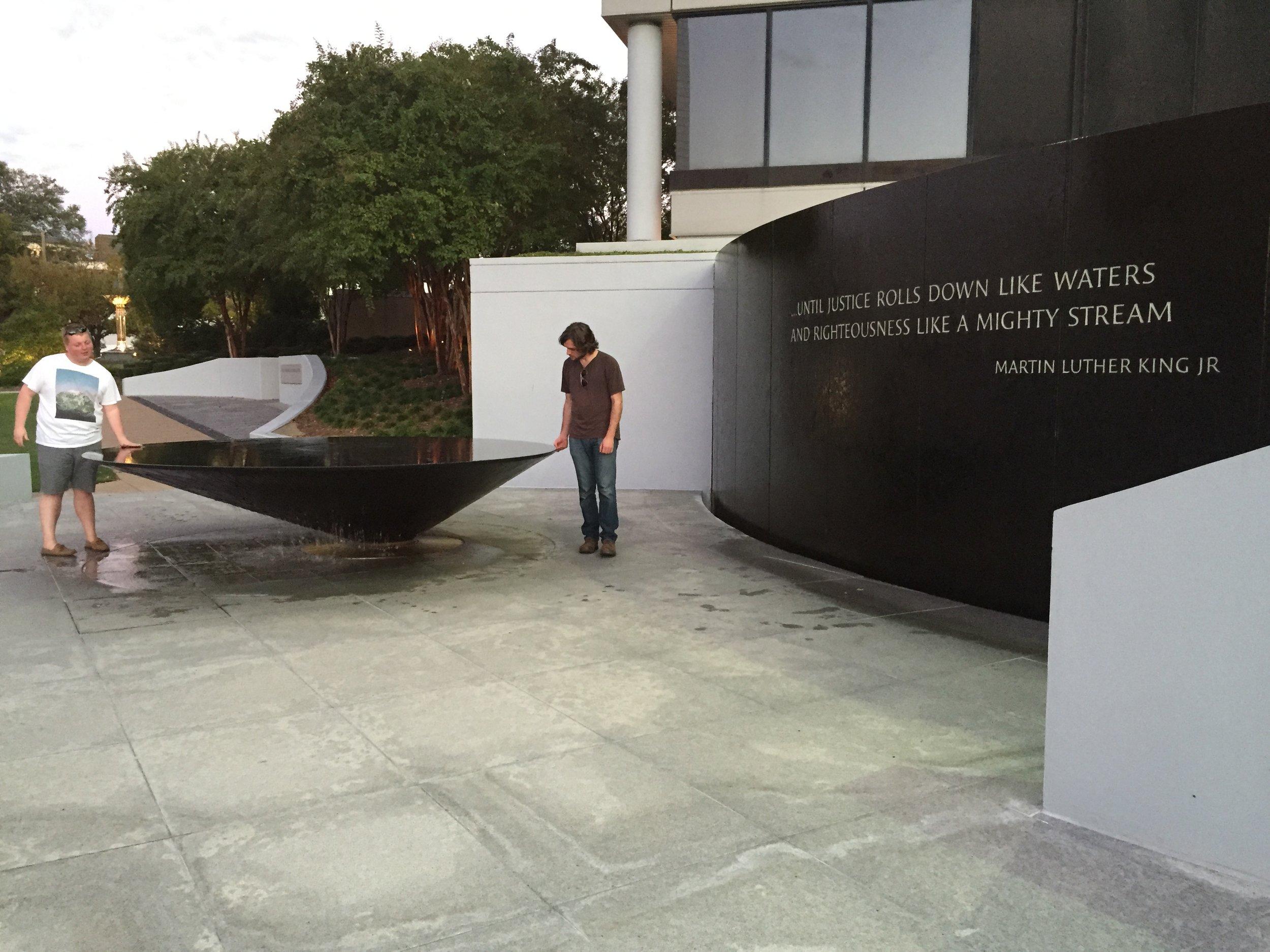 ARCH594-2015-Keddy-Maya Lin Civil Rights Memorial.JPG