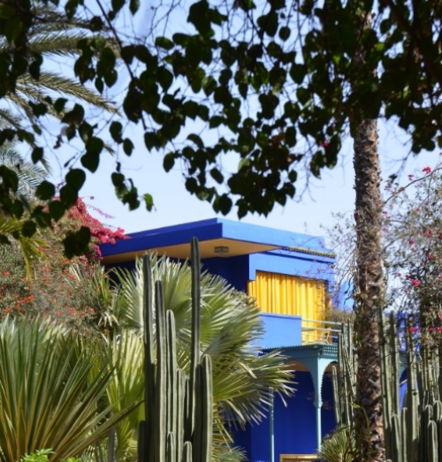 Jardin Majorelle villa | photo by Maleeha Sambur