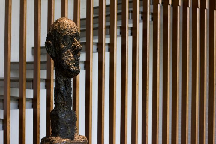 Giacometti Gallery /Photo: Tawfeeq Khan