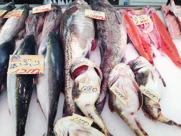 Fish market offerings
